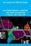 Quy hoạch chi tiết xây dựng Khu Công nghiệp luyện kim – Khu Kinh tế Nghi Sơn, huyện Tĩnh Gia, tỉnh Thanh Hoá