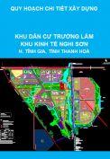 Quy hoạch chi tiết xây dựng Khu dân cư Trường Lâm, Khu kinh tế Nghi Sơn, huyện Tĩnh Gia, tỉnh Thanh Hoá