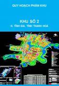 Quy hoạch chi tiết xây dựng khu đô thị số 2 Khu đô thị trung tâm khu kinh tế Nghi Sơn, huyện Tĩnh Gia, tỉnh Thanh Hoá
