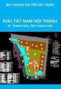 Quy hoạch chi tiết xây dựng khu Tây Nam Nội Thành, thành phố Thanh Hoá, tỉnh Thanh Hoá