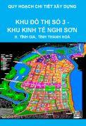 Quy hoạch chi tiết xây dựng tỷ lệ 1/2000 Khu Đô thị số 3 – Khu Kinh tế Nghi Sơn, huyện Tĩnh Gia, tỉnh Thanh Hoá
