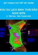 Quy hoạch chi tiết xây dựng tỷ lệ 1/2000 Khu du lịch sinh thái đảo Nghi Sơn, khu kinh tế Nghi Sơn, huyện Tĩnh Gia, tỉnh Thanh Hoá