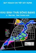 Quy hoạch chi tiết xây dựng tỷ lệ 1/2000 Khu sinh thái sông Bạng – Khu kinh tế Nghi Sơn, huyện tĩnh Gia, tỉnh Thanh Hoá
