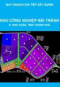 Quy hoạch chi tiết xây dựng tỷ lệ 1/500 Khu công nghiệp Bãi Trành, huyện Như Xuân, tỉnh Thanh Hoá