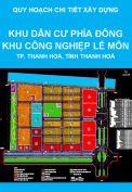 Quy hoạch chi tiết xây dựng tỷ lệ 1/500 Khu dân cư phía Đông Khu Công nghiệp Lễ Môn, thành phố Thanh Hoá, tỉnh Thanh Hoá