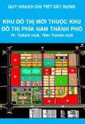 Quy hoạch chi tiết xây dựng tỷ lệ 1/500 Khu Đô thị mới thuộc Khu Đô thị Nam thành phố Thanh Hoá, tỉnh Thanh Hoá