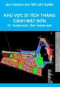 Quy hoạch chi tiết xây dựng tỷ lệ 1/500 Khu vực di tích thắng cảnh Mật Sơn, thành phố Thanh Hoá, tỉnh Thanh Hoá