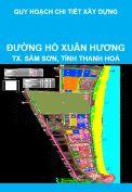 Quy hoạch chi tiết xây dựng tỷ lệ 1/500 khu vực đường Hồ Xuân Hương, thị xã Sầm Sơn, tỉnh Thanh Hoá