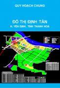 Quy hoạch chung đô thị Định Tân, huyện Yên Định, tỉnh Thanh Hoá