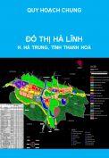 Quy hoạch chung Đô thị Hà Lĩnh, huyện Hà Trung, tỉnh Thanh Hoá đến năm 2025
