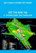 Quy hoạch chung Đô thị Khe Hạ, huyện Thường Xuân, tỉnh Thanh Hoá đến năm 2030