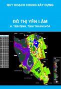 Quy hoạch chung Đô thị Yên Lâm, huyện Yên Đinh, tỉnh Thanh Hoá đến năm 2030
