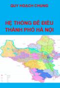 Quy hoạch chung hệ thống đê điều thành phố Hà Nội