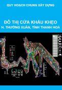 Quy hoạch chung xây dựng đô thị Cửa khẩu Khẹo, huyện Thường Xuân, tỉnh Thanh Hoá đến năm 2025