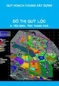 Quy hoạch chung xây dựng đô thị Quý Lộc, huyện Yên Định, tỉnh Thanh Hoá