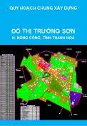 Quy hoạch chung xây dựng đô thị Trường Sơn, huyện Nông Cống, tỉnh Thanh Hoá đến năm 2025