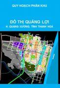 Quy hoạch phân khu tỷ lệ 1/2000 đô thị Quảng Lợi, huyện Quảng Xương, tỉnh Thanh Hoá