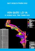 Quy hoạch phân khu tỷ lệ 1/2000 khu vực ven Quốc lộ 1A (tiểu dự án 2) đoạn qua địa bàn huyện Hoằng Hoá, tỉnh Thanh Hoá