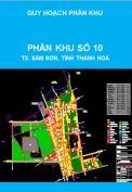 Quy hoạch phân khu tỷ lệ 1/2000 phân khu số 10, thị xã Sầm Sơn, tỉnh Thanh Hoá