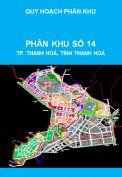 Quy hoạch phân khu tỷ lệ 1/2000, phân khu số 14, thành phố Thanh Hoá, tỉnh Thanh Hoá