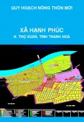 Quy hoạch xây dựng nông thôn mới xã Hạnh Phúc, huyện Thọ Xuân, tỉnh Thanh Hoá đến năm 2020