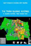 Quy hoạch xây dựng vùng thị trấn Quảng Xương và vùng phụ cận; điều chỉnh quy hoạch chung thị trấn Quảng Xương huyện Quảng Xương  đến năm 2025