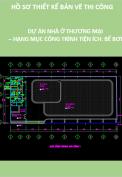 Thiết kế bản vẽ thi công dự án nhà ở thương mại – Hạng mục công trình tiện ích: Bể bơi