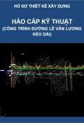 Thiết kế hào cáp kỹ thuật (Công trình thiết kế xây dựng Đường Lê Văn Lương kéo dài)