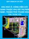 Quy hoạch chi tiết Khu nhà ở, công viên cây xanh thuộc Khu đô thị phía Nam thành phố Thanh Hóa, tỉnh Thanh Hóa tỷ lệ 1/500