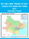Số liệu hiện trạng và quy hoạch sử dụng đất năm 2017 tỉnh Ninh Thuận