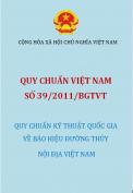 QCVN 39:2011/BGTVT  quy chuẩn kỹ thuật quốc gia về báo hiệu đường thủy nội địa việt nam