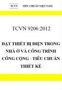 TCVN 9206:2012 Đặt thiết bị điện trong nhà ở và công trình công cộng - tiêu chuẩn thiết kế