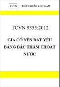 TCVN 9355:2012 Gia cố nền đất yếu bảng bấc thấm thoát nước