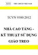 TCVN 9380:2012 Nhà cao tầng - kỹ thuật sử dụng giáo treo