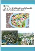 Đề án ''Một số vấn đề về quy hoạch sử dụng đất ở đô thị Việt Nam và giải pháp''