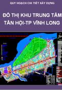 Quy hoạch chi tiết xây dựng đô thị Khu trung tâm Xã Tân Hội – Thành phố Vĩnh Long