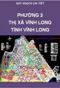 Quy hoạch chi tiết xây dựng Phường 3 – TX Vĩnh Long – Tỉnh Vĩnh Long