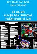 Quy hoạch nông thôn mới xã Hạ Mỗ – Huyện Đan Phượng  – thành phố Hà Nội