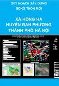 Quy hoạch nông thôn mới xã Hồng Hà – Huyện Đan Phượng  – thành phố Hà Nội