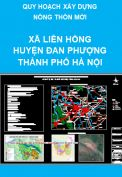 Quy hoạch nông thôn mới xã Liên Hồng – Huyện Đan Phượng– thành phố Hà Nội