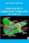 Quy hoạch phân khu số 11 – thành phố Thanh Hóa