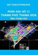 Quy hoạch phân khu số 13 – thành phố Thanh Hóa