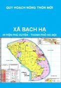 Quy hoạch xây dựng nông thôn mới xã Bạch Hạ, huyện Phú Xuyên đến năm 2020