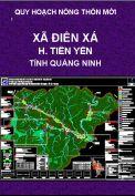 Quy hoạch xây dựng nông thôn mới xã Điền Xá-H.Tiên Yên-T. Quảng Ninh