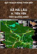 Quy hoạch xây dựng nông thôn mới xã Hà Lâu-H.Tiên Yên-T. Quảng Ninh