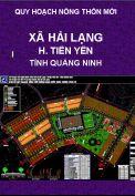 Quy hoạch xây dựng nông thôn mới xã Hải Lạng-H.Tiên Yên-T. Quảng Ninh