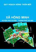 Quy hoạch xây dựng nông thôn mới xã Hồng Minh, huyện Phú Xuyên giai đoạn 2011-2020, định hướng đến năm 2030