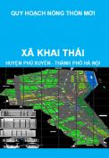 Quy hoạch xây dựng nông thôn mới xã Khai Thái, huyện Phú Xuyên đến năm 2020, định hướng đến năm 2030