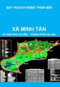 Quy hoạch xây dựng nông thôn mới xã Minh Tân, huyện Phú Xuyên đến năm 2020