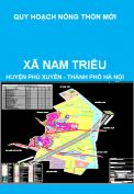 Quy hoạch xây dựng nông thôn mới xã Nam Triều, huyện Phú Xuyên giai đoạn 2011-2020, định hướng 2030